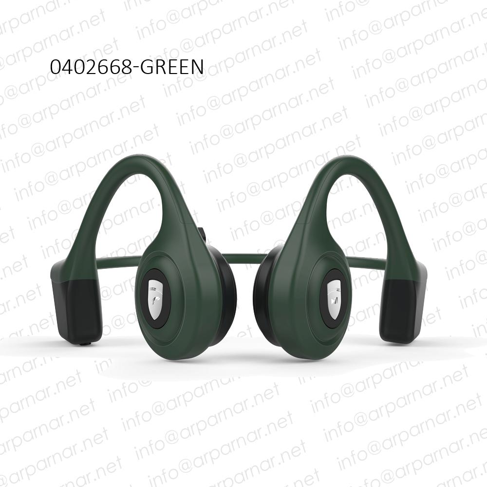 0402668GREEN Arparnar Bone Conducting Headphone